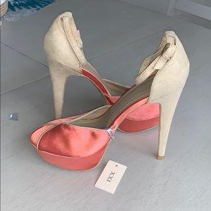 NEW! Platform open toe heels